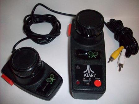 Atari Paddle (2 Player) - Plug & Play TV Game